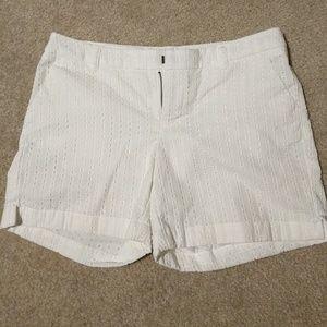 NWOT Merona White Shorts